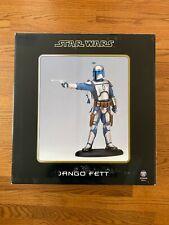 Jango Fett Attakus Statue New/Mint In Box Large Version Vader Boba Mandalorian
