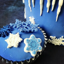 New Design Snowflake Shaped Silicone Mould DIY Sugarcraft Cake Baking Tool Mold