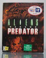 Alien VS Versus Predator PC Game CD-ROM Big Box with Inserts