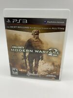 Call of Duty: Modern Warfare 2 Sony PlayStation 3 (PS3) Tested/Working -w/Manual