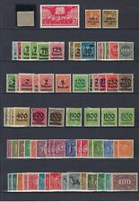 Allemagne Deutsches Reich (+DDR) Lot 97 timbres */** mh* mnh**