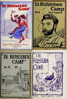 16 RARE ISSUES OF RUHLEBEN CAMP MAGAZINE BY PRISONERS OF WAR (1915-1916) ON DVD