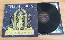 "LP VINYL 12"" THE MISSION GODS OWN MEDICINE 1986 MERCURY MERH 102 GATEFOLD"