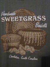NWOT - SWEETGRASS BASKETS CHARLESTON, SC Green Adult Size M Short Sleeve Tee