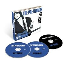 PRETENDERS - GET CLOSE (2CD+DVD DELUXE EDITION) 2 CD + DVD NEW+