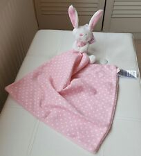 Mothercare Butterfly Fields blankie pink blanket rabbit comforter spotty bunny