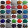 100pcs Loose Glass Bicone Beads Finding Craft Spacer Beads for Jewelry Making