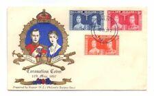 NEW ZEALAND 1937 CORONATION SET ON ILLUSTRATED FDC