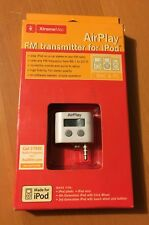 New XtremeMac Air Play FM Transmitter for iPod