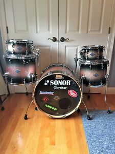 SONOR Select Force Maple Drumset Galaxy Brown Burst