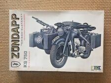 ESCI ZUNDAPP K 750 scala 1:9 KIT numero 7003 vintage model kit