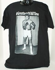 MUHAMMAD ALI TRIBUTE MENS SMALL OR FITS WOMEN BLACK GREATEST OF ALL TIME SHIRT