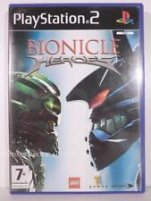 jeu BIONICLE HEROES pour playstation 2 sony PS2 en francais lego game complet