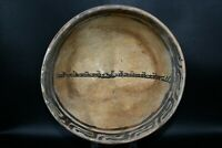 Large Ancient Islamic Ceramic Bowl With Ancient Islamic Kufic Calligraphy