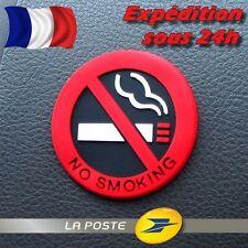 Interdiction de Fumer / Sticker Autocollant 3D - VEHICULE / BUREAU / LIEU PUBLIC
