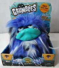 Grumblies Bolt Purple Interactive Pet Monster Action Plush Hot Gift