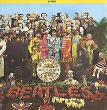 Los Beatles Sgt. Pepper's Lonely Hearts Club Band 1970s canadiense Vinilo Lp Insert