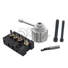 "Mini Quick Change Multifix Tool Post Holder Kit for 7 x10,12,14"" Engine Lathe"