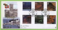 G.B. 2004 Wales Views set on Bradbury First Day Cover, Tenby Dyfed