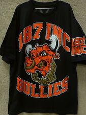 "187 Inc Men T-shirt ""Bullies"" -- Color Black"