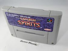 SAMURAI SPIRITS SHODOWN SNK NINTENDO SUPER FAMICOM SNES 16 BIT GIAPPONESE JAP JP