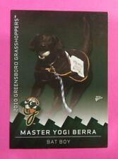 2010 MultiAd Sports, Greensboro Grasshoppers. Bat Boy - MASTER YOGI BERRA