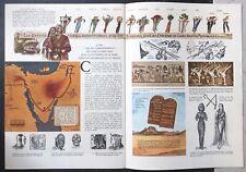 Les dix commandements. Livret 24 pages, illustré couleur Paramount Pictures 1957