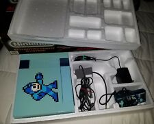 Nintendo NES Action Set Console Special Custom Mega Man Version CIB with Box