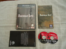 RESIDENT EVIL (NINTENDO GAMECUBE GAME) UK PAL COMPLETE