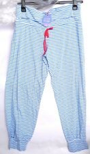 MOTHERCARE BLOOMING MARVELLOUS MATERNITY STRIPED PYJAMA BOTTOMS (M) SLEEPWEAR