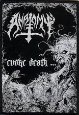 Anatomy Patch Black Death Metal Abominator Destroyer 666 Gospel Of The Horns