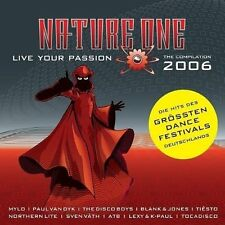 Nature One 2006-live your passion supermode, paul van Dyk, Blank & JO [double CD]