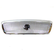 2003-2005 Mercury Grand Marquis Front Chrome Grille w/ Emblem OEM 3W3Z-8200-AB