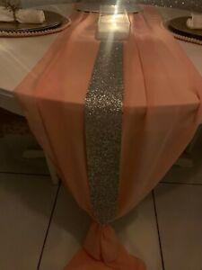 Slim Glitter Table Cloth Runner Christmas Table Decoration