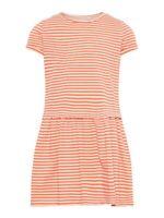 NAME IT Sommer kurzarm Kleid NKFPetulla rosa gestreift Größe 128 bis 164