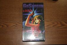 Anime Classic-GoShogun:The Time Etranger (VHS, 1995, Subtitled)-New & Sealed-OOP