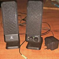 Logitech Lautsprecher 2.0 für PC Notebook Tablet Handy