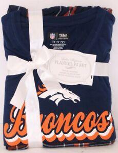 NEW Denver Broncos NFL Team Apparel Sleepwear SS Shirt Pants Pajamas Women's M