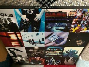 U2 Achtung baby 20th anniversary vinyles box.2 bleus+2 lp album.
