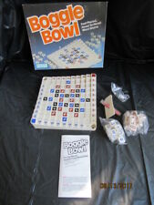 Complete 1982 Boggle Bowl Vintage Board Game Pb Head to Head Word Game