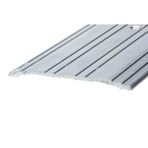 Door Threshold Saddle 5 in. x 1/4 in. x 36 in. Aluminum Mill Commercial Flat Top