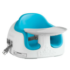 Bumbo Baby/Toddler Adjustable Height 3-in-1 Non-Slip Multi Seat, Blue (Open Box)