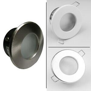 Recessed Ceiling Spotlight Downlights LED GU10 IP65 Fire Rated Bathroom Spots