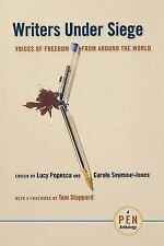 Writers Under Siege: Voices of Freedom from Around the World-ExLibrary