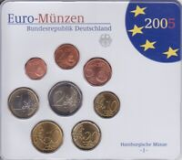 Frg KMS 2005 J IN Blister, Coins Currency Coin Set, Coin