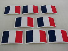 8 FRANCE FLAG Sticker Decal LOT 4 boat car Window Truck suv Wholesale