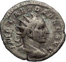 TRAJAN DECIUS 250AD Silver Ancient Roman Coin Pannonia Roman province  i46433