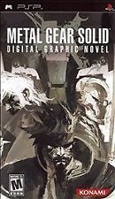 Metal Gear Solid: Digital Graphic Novel Sony PSP Sealed Unopened RARE