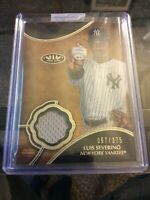 2019 Topps Luis Severino Tier One Relic Card 067/375 New York Yankees