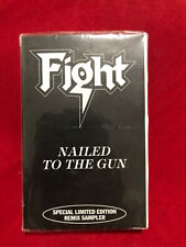 Fight Nailed To The Gun Cassette Tape Remix Promo Samplr 1993 Sealed Rob Halford